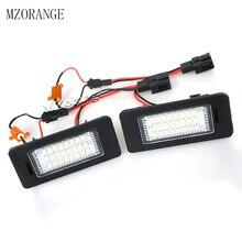 цена на MZORANGE 24-SMD LED Number License Plate Light For SKODA Octavia 3 / Superb B6 Combi / Rapid / Yeti / Fabia White 2 Pieces