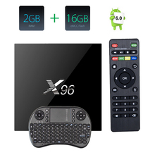 X96 2 ГБ 16 ГБ S905X Amlogic Quad Core Android 6.0 Зефир Smart TV Box WI-FI HDMI 4 К * 2 К smart Media Player Set Top Box mini pc