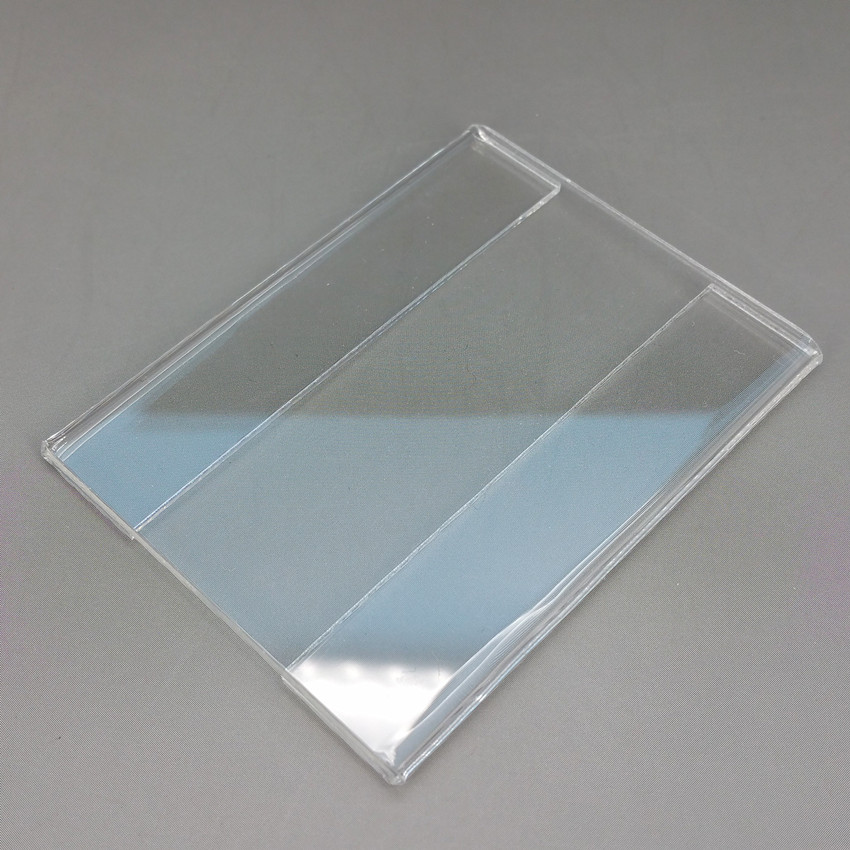⓪6x4 cm acrílico T1.2mm plástico signo etiqueta de precio etiqueta ...