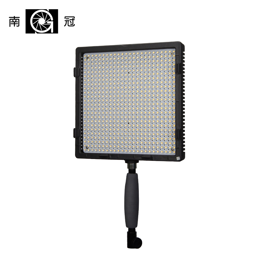 Nanguang CN-576 Hight RA CRI 95 Ultra Color LED Video Light Lamp Panel for DSLR Camera nanguang cn r640 cn r640 photography video studio 640 led continuous ring light 5600k day lighting led video light with tripod
