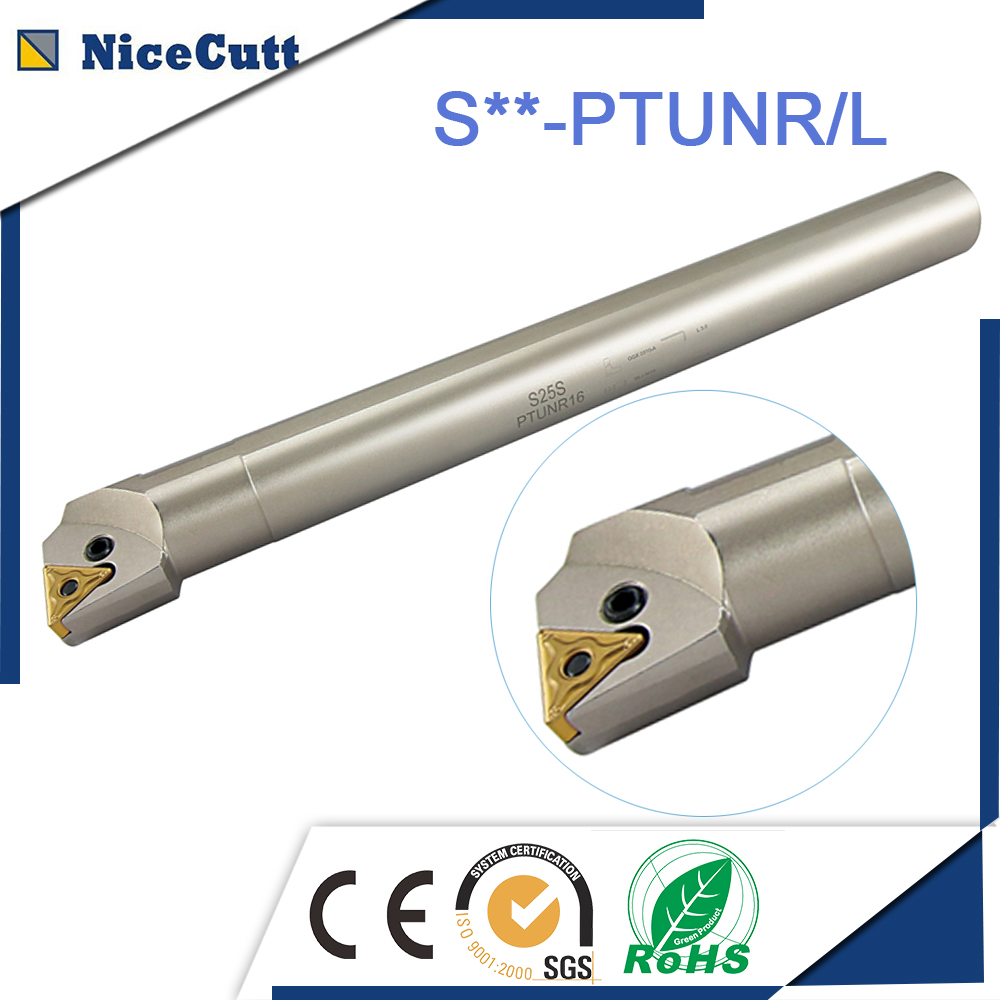 Free Shipping Internal Turning Tool Holder 25 20 200mm S20R PTUNR16 S20R PTUNL16 Lathe Boring Bar