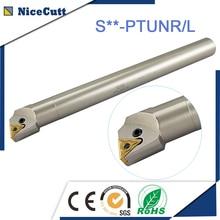Envío Gratis portaherramientas de torneado interno S32T PTUNR16 torno portaherramientas de barra de taladrado de alta calidad