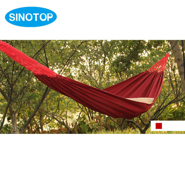 Hot Canvas Single Parachute Hammock Outdoor Furniture Garden Swing Hammock  For Kids Rope Hanging Hamaca Sleeping