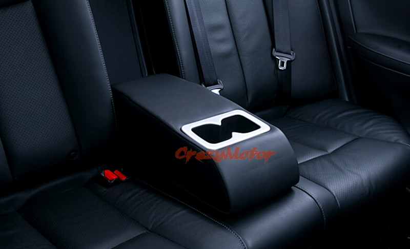 For Nissan Sylphy 2012 2013 2014 2015 2016 Interior Rear water cup holder decoration cover trim 1pcs