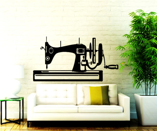 wall decals sewing machine decal vinyl sticker sew studio decor home