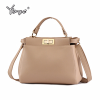 YBYT brand 2018 new high quality designer women handbags socialite leisure ladies shopping bag shoulder messenger crossbody bags