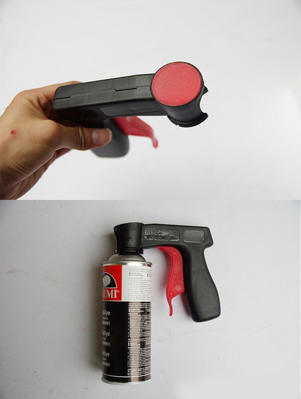 Image 3 - Plasti Dip pintura Aerosol Spray Gun Handle with Full Grip Trigger Locking Collar  MX PD01-in Car Stickers from Automobiles & Motorcycles