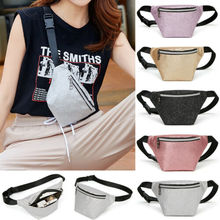 Women Waist Fanny Pack Belt Chest Pouch Travel Hip Bum Bag Lady Small Purse Storage Bags