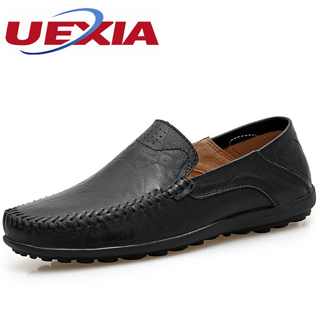 Men's Soft Slip On Flats Loafers Shoes