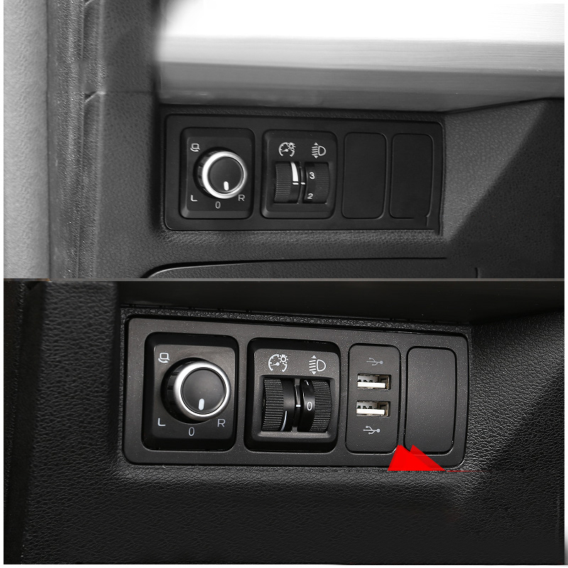Lsrtw2017 Car Interior USB Charger Charging Socket for Geely Boyue 2016 2017 2018 2019 2020 in Interior Mouldings from Automobiles Motorcycles
