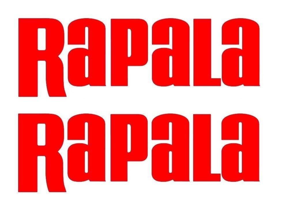 """5/"""" Rapala High Quality Decal Sticker Tackle Box Lures Fishing Boat Truck trailer"""