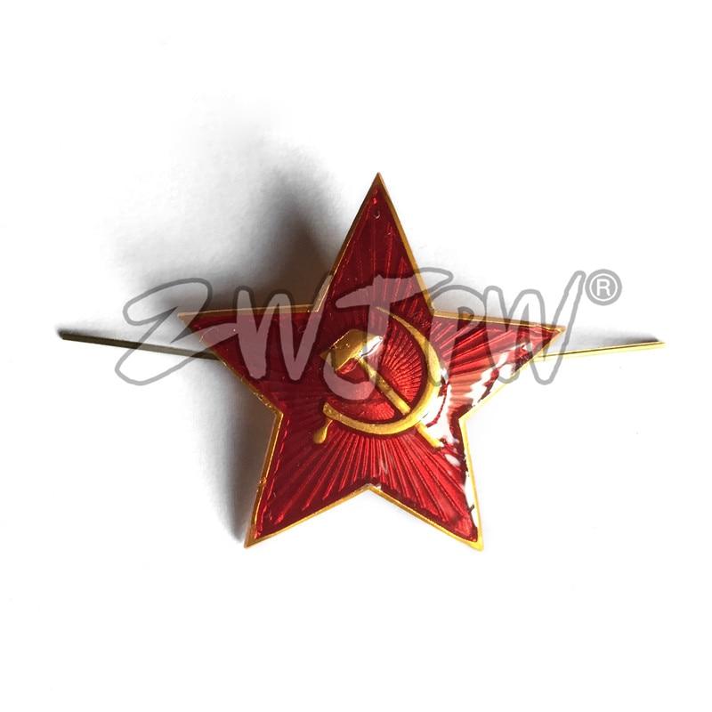 Soviet Union Red Star Hammer Sickle Communism Emblem Symbol Ussr Pin