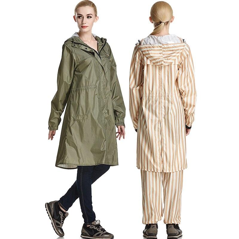 QIAN Impermeable แฟชั่นเสื้อกันฝนผู้หญิง/ชายกันน้ำ Poncho เสื้อโค้ท Rain Coat ผู้หญิงแบบพกพา Rainwear Rain เกียร์ Poncho-ใน เสื้อกันฝน จาก บ้านและสวน บน AliExpress - 11.11_สิบเอ็ด สิบเอ็ดวันคนโสด 3