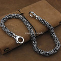 "Shiny Rocker Fashion Waist Pendant Solid 316L Stainless Steel Cool Men's Biker Cross Wallet Chain 5P002WC  --   14""~36"""