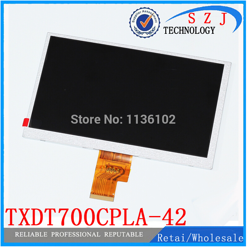 Original 7'' inch(1024*600) 40pin LCD display 100% New display Tablet PC LCD screen TXDT700CPLA-42 TXDT700CPLA Free shipping new 7 inch replacement lcd display screen for oysters t72ms 3g 1024 600 tablet pc free shipping