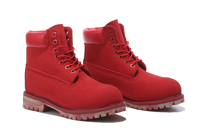 TIMBERLAND Women 10061 Military Camouflage Outdoor Fashion Martin Ankle Boots,Woman Leather Red Street Elegant Casual Shoes  1
