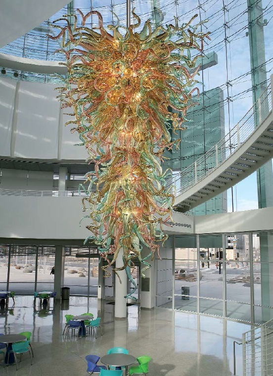 blown glass lighting fixtures. large ground floor hotel lobby decor dale chihuly blown glass chandelier lightingchina mainland lighting fixtures