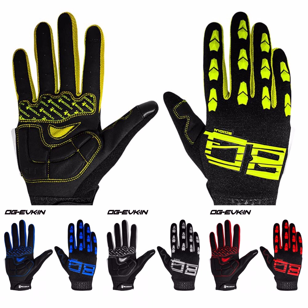 2017 Time-limited Og-evkin Men Mtb Bike <font><b>Gloves</b></font> Winter Full Finger Long Cycling Team Gel Mountain Bicycle Racing Touch Screen