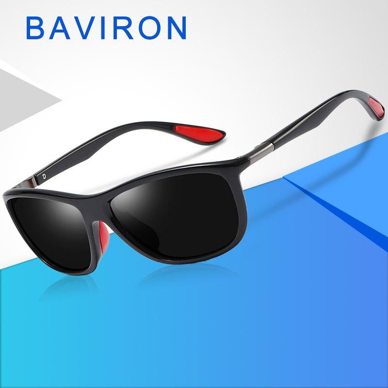 3f9d031ada BAVIRON gafas de sol para hombres, gafas de protección UV hombre gafas de sol  para hombres diseñador Retro piloto gafas de sol clásico espejo Polaroid