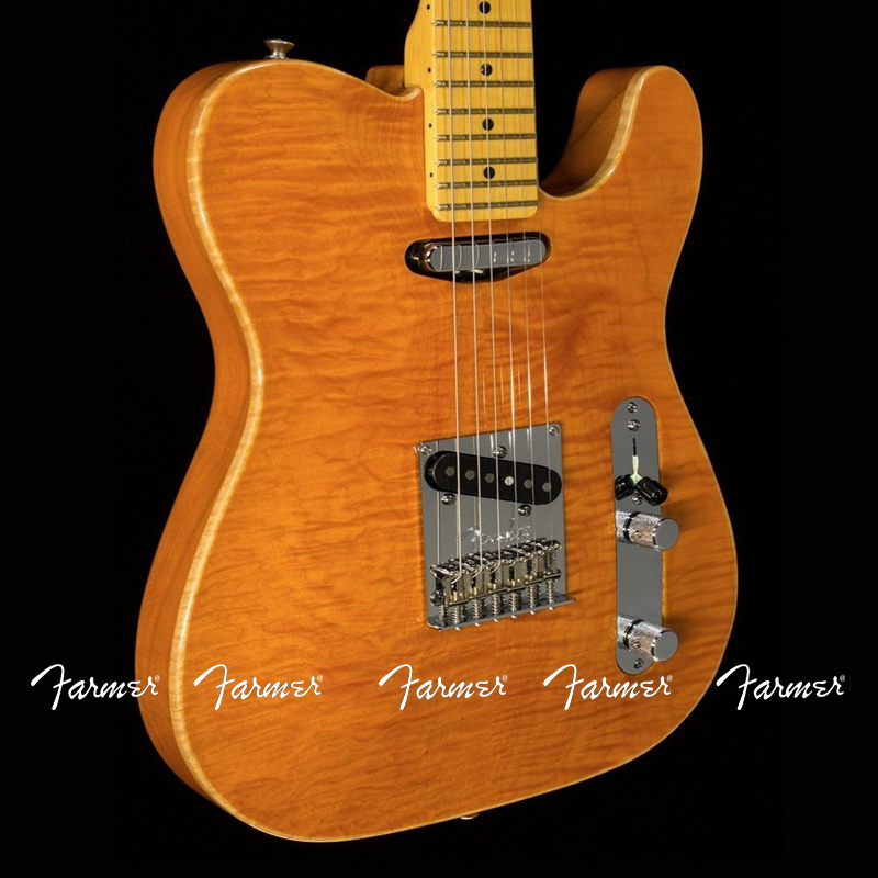 custom shop telecaster water wave maple convex guitar 6 string electric guitar free shipping. Black Bedroom Furniture Sets. Home Design Ideas