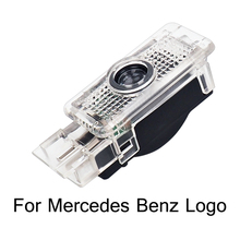 2Pcs 4Pcs Car Door Welcome Logo Light Laser Projector Ghost Shadow Lamp Accessories For Mercedes Benz W203 C Class SLK CLK SLR цена в Москве и Питере