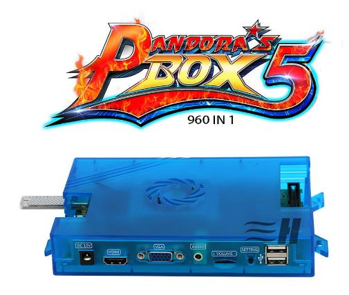 Pandora's box 5 960 in 1 cartridge JAMMA arcade game multi board game with VGA and HDMI out Game box SNK replacement main board pc motherboard for 2019 in 1 game family pcb spare parts replace main board for 2019 in 1 multi game box
