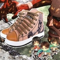 Zapatos de anime ataque en Titán anime cosplay shoes