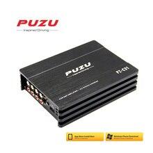 PUZU iso жгут проводов кабель автомобильный усилитель цифровой обработки сигналов 4X150 Вт поддержка ПК инструмент 31 эквалайзер android приложение bluetooth без потерь USB музыка