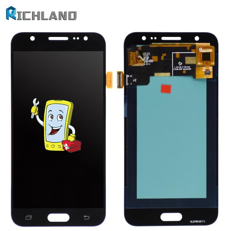 100% testé Super AMOLED J500 LCD pour Samsung Galaxy J5 2015 J500 J500F J500FN J500H J500M LCD écran tactile numériseur