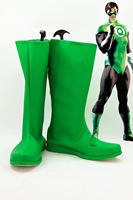 Green Lantern Cosplay Shoes From Movie Green Lantern