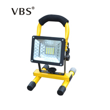 Rechargeable LED Floodlight T6 Portable Spotlight Movable outdoor camping light grassland for 3*18650 battery include charger