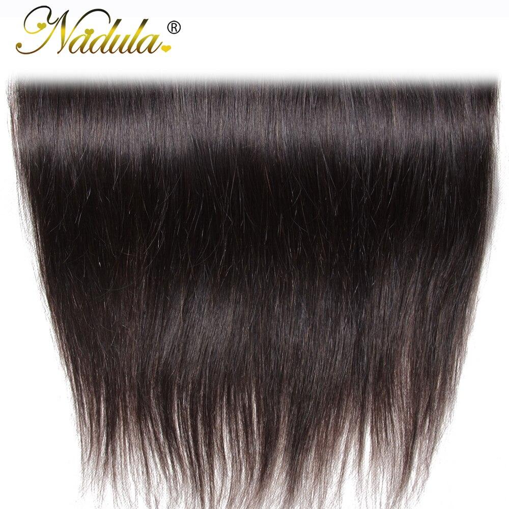Nadula Hair 13x4  Straight Hair Lace Frontals 10-20inch Free Part Closure 130% Density  Hair  6