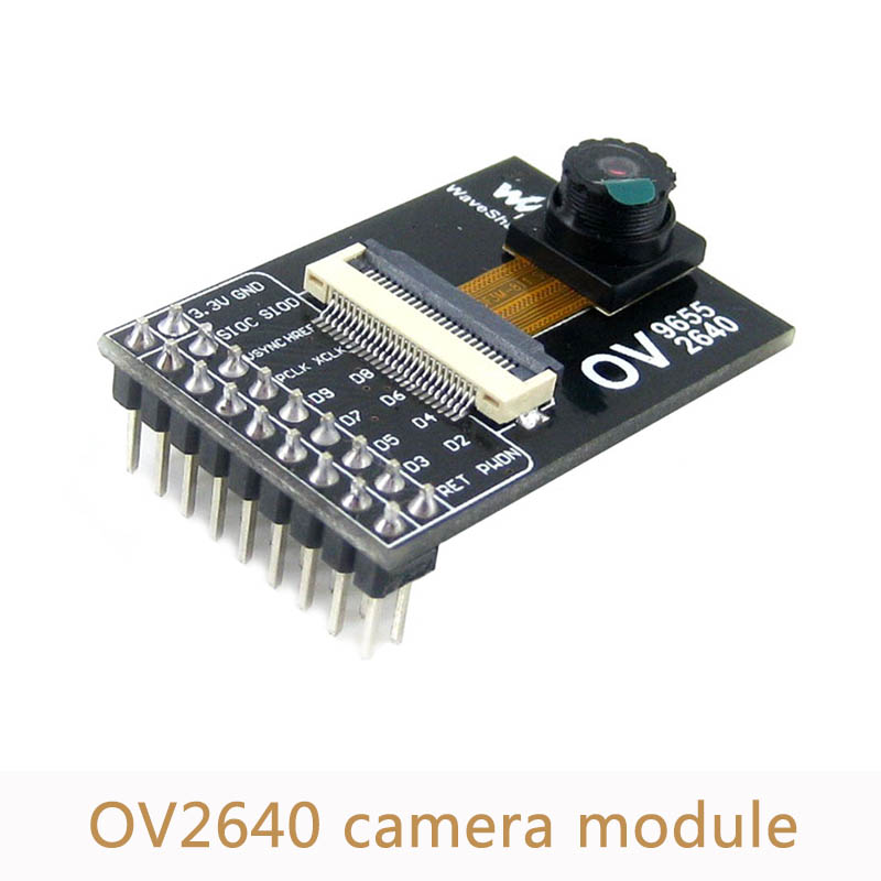 5pcs/lot OV2640 Camera Module Acquisition Module 2million pixels 3.3V for DIY cell and camera phones toys PC multimedia AD005