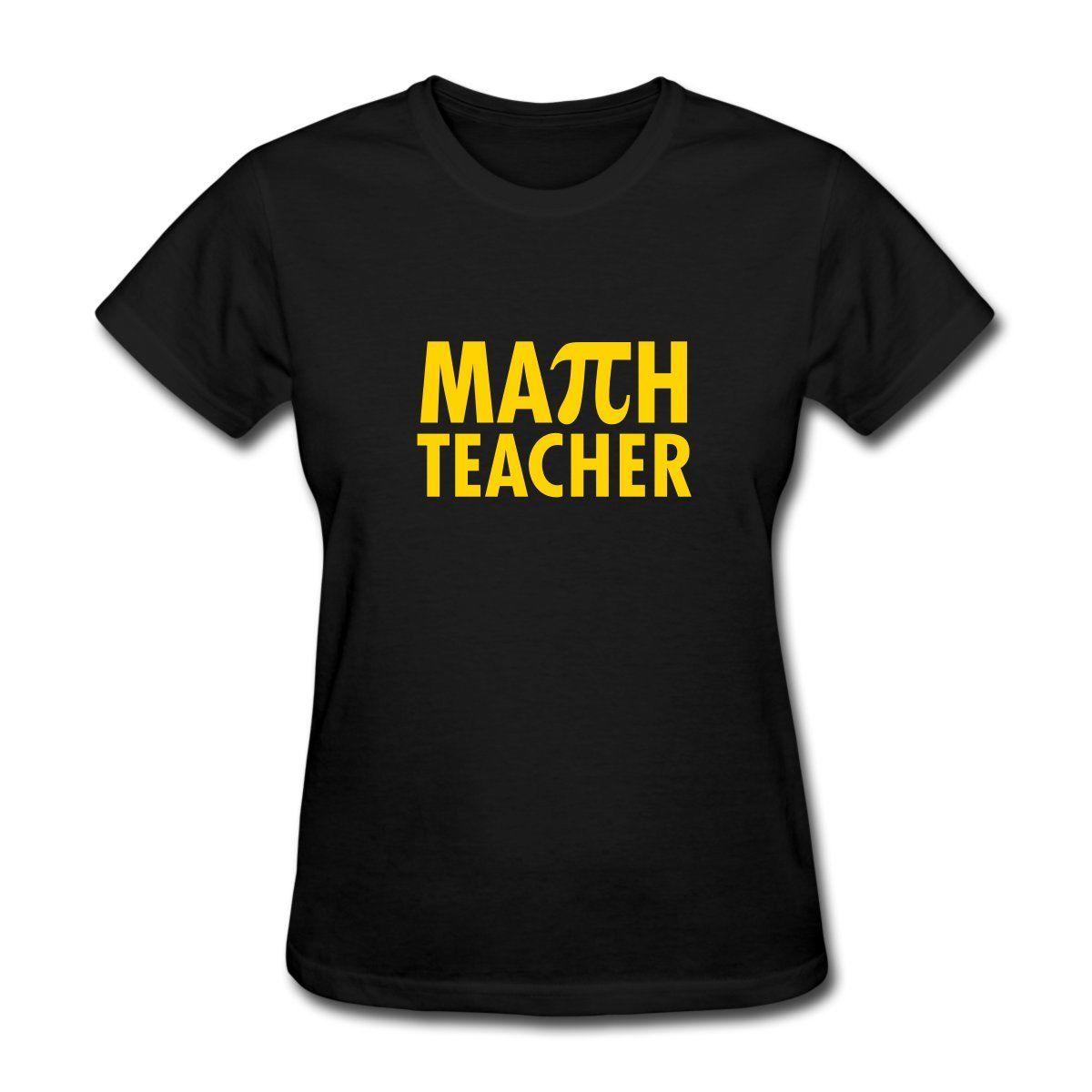 Pi Day Math Teacher Womens T-Shirt Breathable T Shirt Fashion Sleeve O-Neck Female Harajuk Fashion Drake Fitness Punk Tops