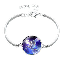 12 styles silver unicorn bracelets for men women male female Cross Border Children Jewelry bracelets drop shipping(China)