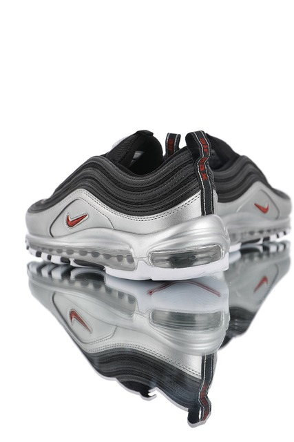 New Arrival Genuine Nike Air Max 97 QS 2018 RELEASE Men's and Women Running Shoes,Official Breathable Sports Sneakers AT5458-001
