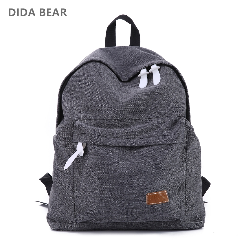 Brand Canvas Men Women Backpack College High Middle School Bags For Teenager Boy Girls Laptop Travel Backpacks Mochila Rucksacks children school bag minecraft cartoon backpack pupils printing school bags hot game backpacks for boys and girls mochila escolar
