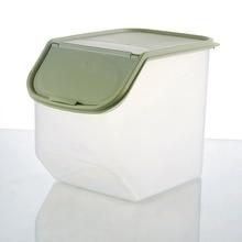 Household Use Kitchen Storage Organizer Dried Food Storage Sealed Box Rice Bin Bean Grain Container Organizer