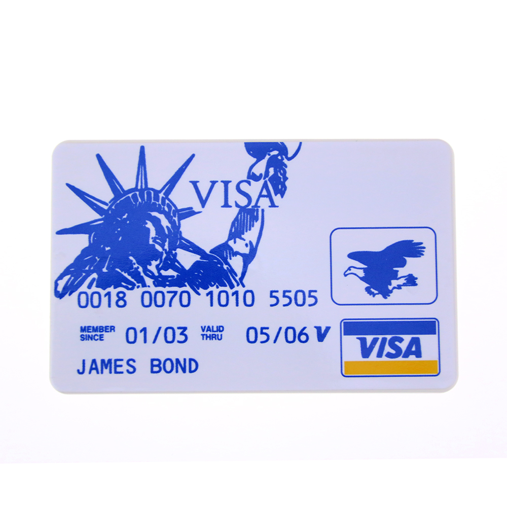 Free Shipping 5pcs Locksmith Hardware Pins Hide In James Bond Credit Card Easy To Carry Easy To Use Funny