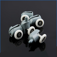 High Quality Shower Roller OD:20mm  Runner Pulleys Replacement Bottom Rollers Wheel For Hardware Tools