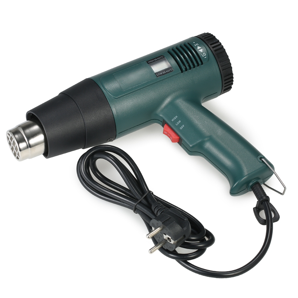 1800W AC220V New High Quality Digital Hot Air Gun Temperature-controlled Portable Heat Gun Soldering Hairdryer Gun Power Tools 1800w ac220v new high quality digital hot air gun temperature controlled portable heat gun soldering hairdryer gun power tools