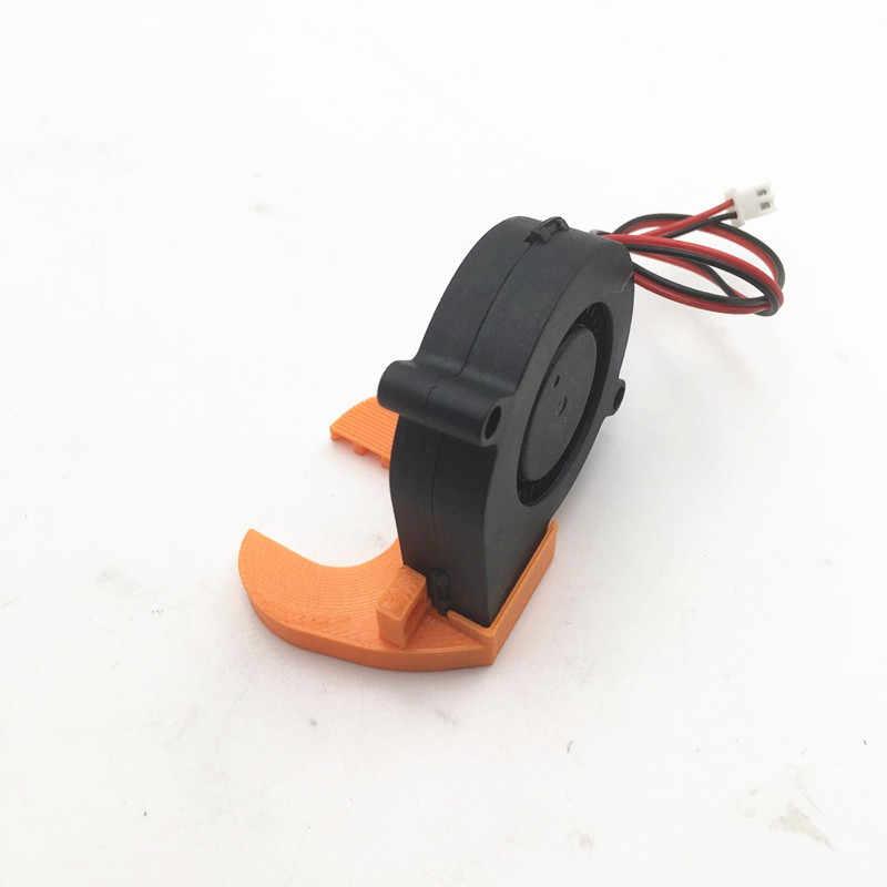 funssor 12V / 5V DC 5015 50mm Blow Radial Cooling Fan Sleeve Bearing for  Prusa I3 MK3 3D Printer Parts