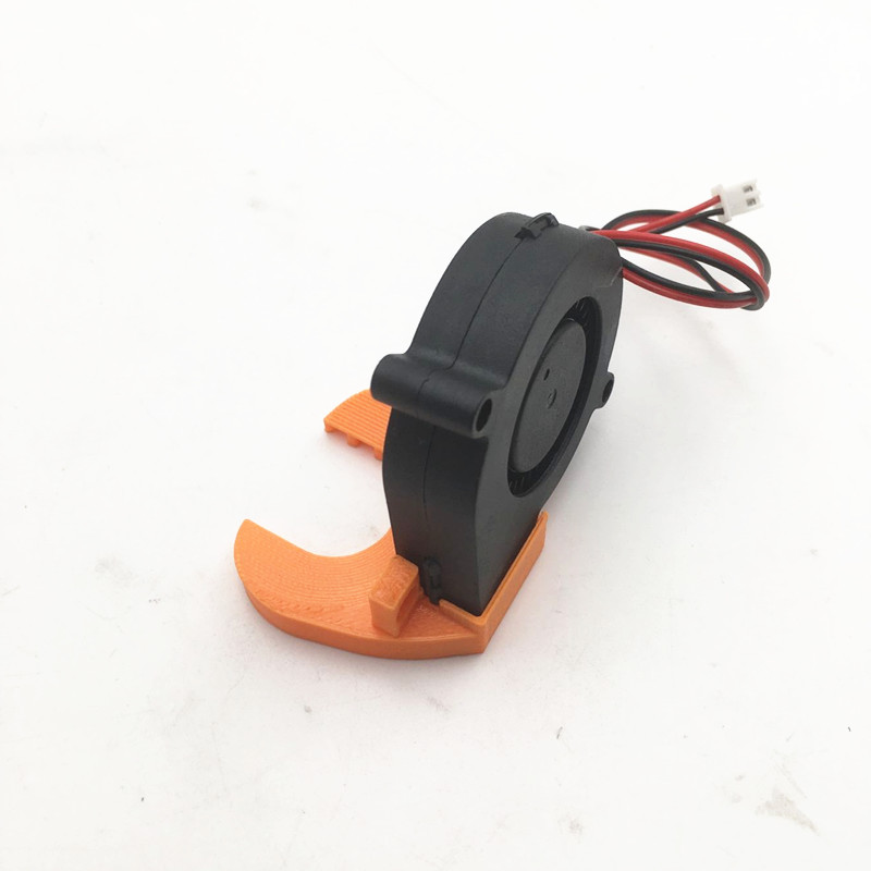 Funssor 12V / 5V DC 5015 50mm Blow Radial Cooling Fan Sleeve Bearing For Prusa I3 MK3 3D Printer Parts