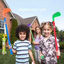 Chrildren Golf Set Mini Sports Game for Kids Outdoor Fun Activity Movement Ability Developing Toys