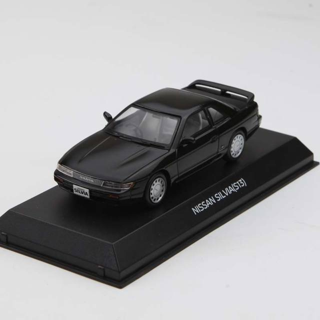 US $51 5 |Original factory 1:43 NISSAN SILVIA S13 alloy toy car toys for  children diecast model car Birthday gift freeshipping-in Diecasts & Toy