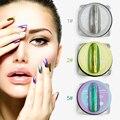 AZAD 1g/pot 11 Colores de Uñas Glitter Powder Espejo Mágico Efecto Cromado Polvo Shimmer Polvo de Uñas de Arte de Uñas Decoraciones del arte 1g/pot