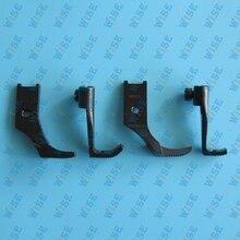 SINGER 111 211W LEFT RIGHT TOE ZIPPER FOOT SETWALKING FOOT CONSEW 206RB