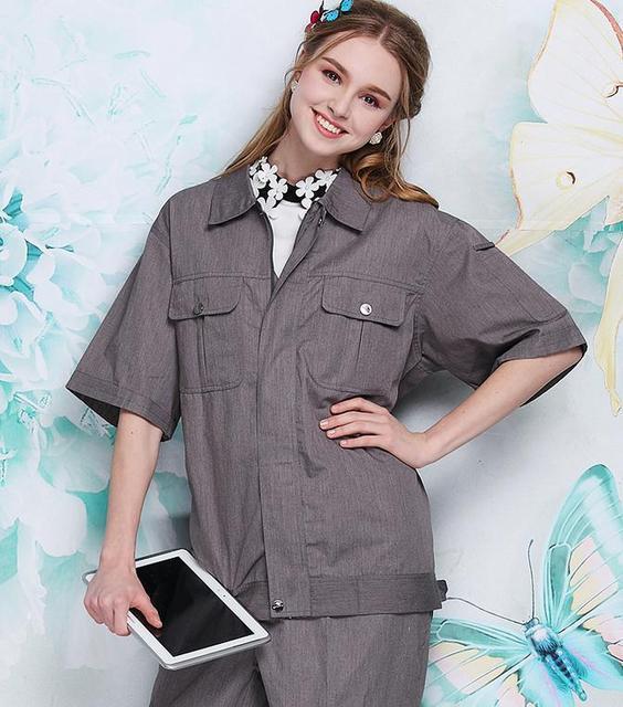 Radiation overalls, short-sleeved clothing electromagnetic radiation, radiation pants.