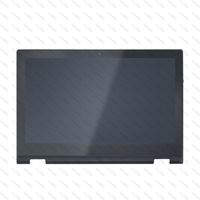 ЖК дисплей сенсорный экран стеклянная панель дигитайзер сборка + рамка для Dell Inspiron 13 7000 серии 7347 7348 7359 P57G 11118178082