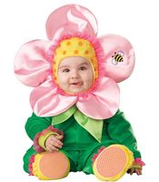 INS Lovely Flower Baby Cartoon Animal Costume Boys Girls Jumpsuit Romper Halloween Kids Clothing Cosplay Character